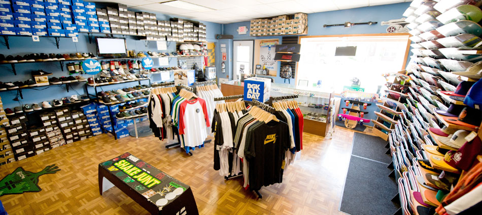 vú skateboard shop
