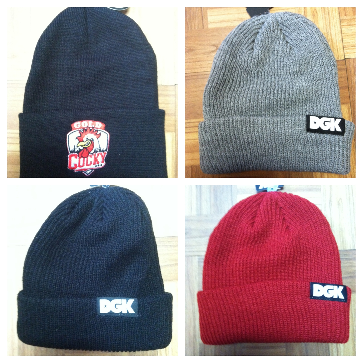 All New DGK   GOLD Wheels Beanies Just Came In vú skateboard shop a853b7e2061