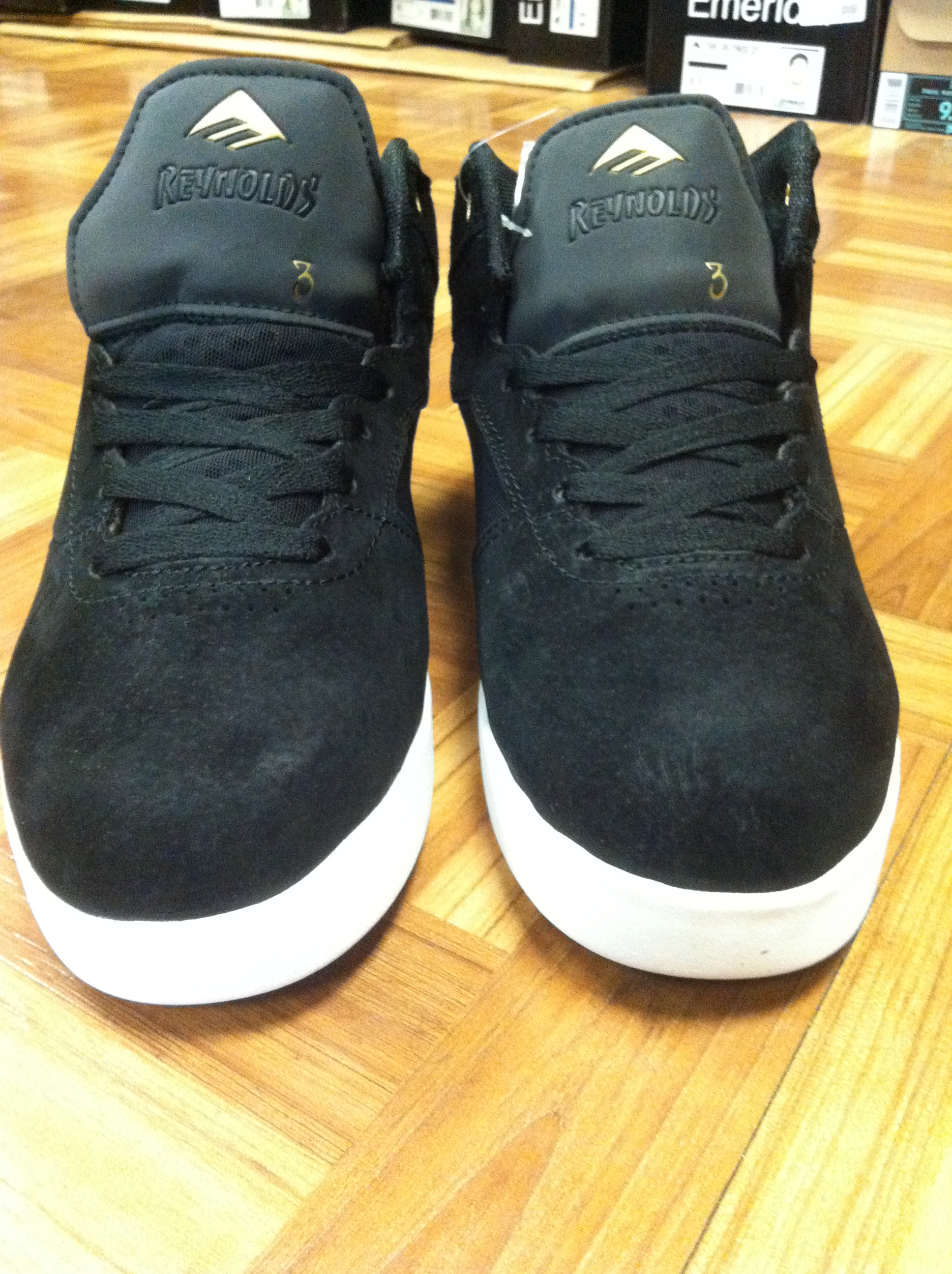 d7de5765169 Just Got In The New Emerica Andrew Reynolds 3 Mid Top In Black White.  Emerica has Really Stepped There Game Up On All The New Shoes.
