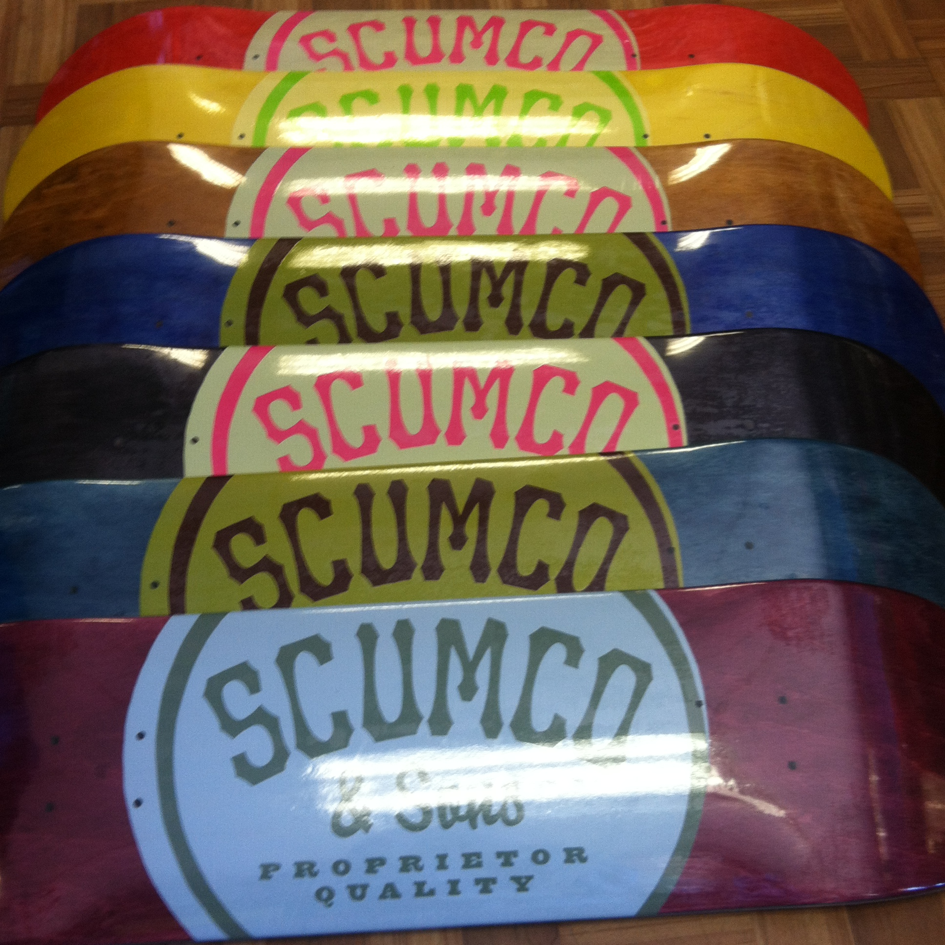 All New Scum Co   Sons Decks Just Came In At Both Shop Locations 5d8207ce322