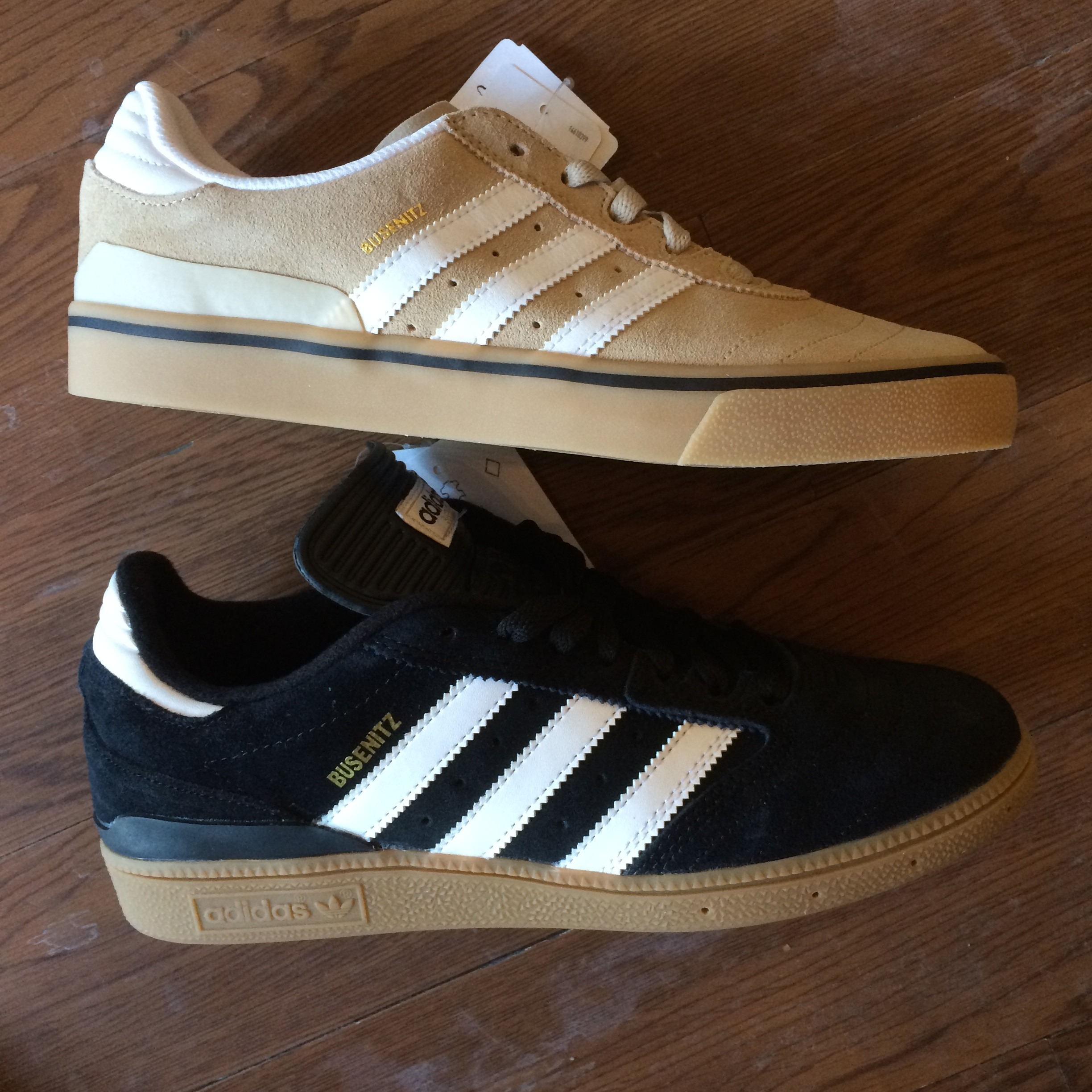 f7d3d57554c New Adidas SkateBoarding Shoes Just Came In At Our Hampden Store… Busenitz  Vulc In Tan Gum   Busenitz Pro In Black White Gum. Also Got In The Adidas  Mark ...