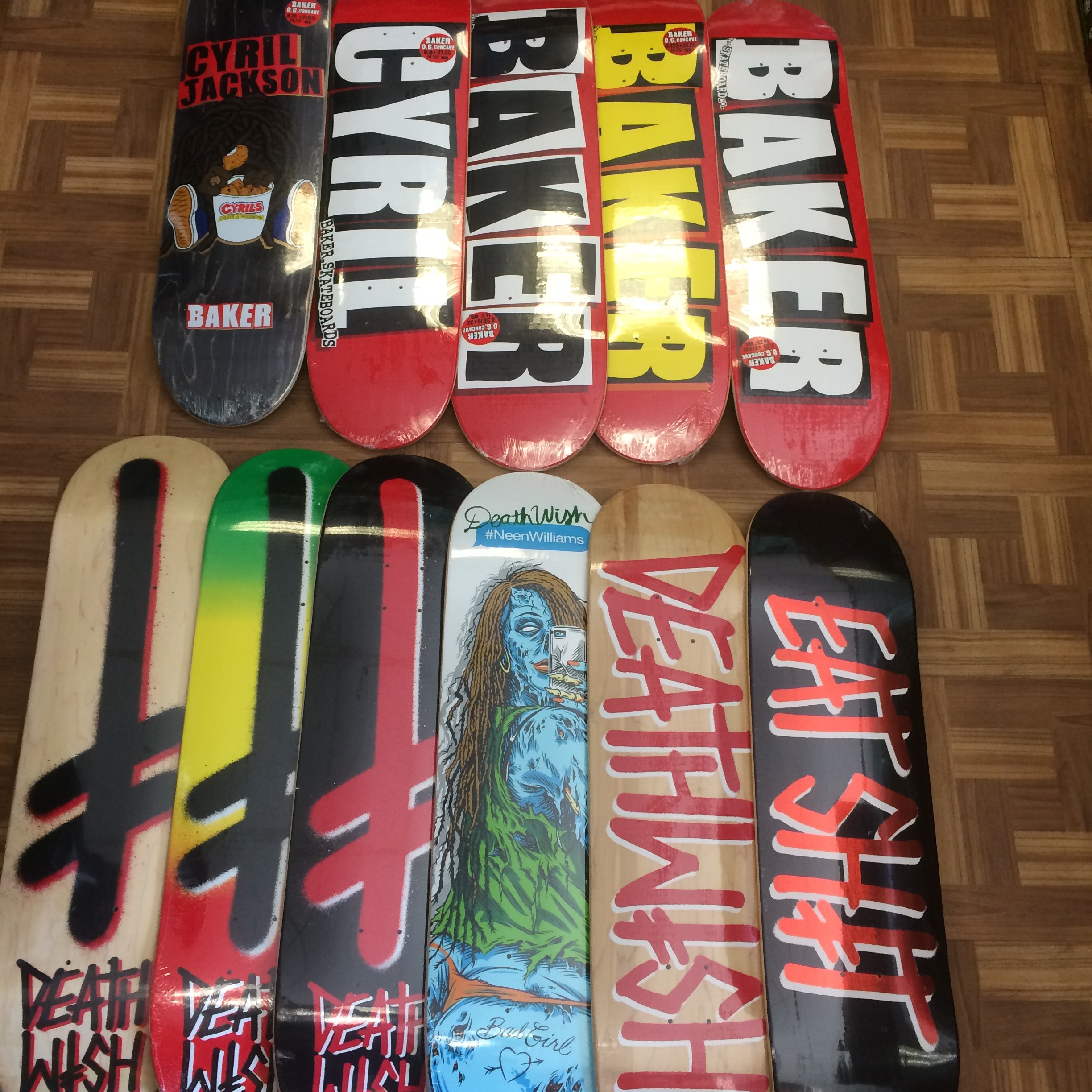 Tons Of New Decks From DeathWish   Baker Just Came In At Both Stores. March  16 85c4ead0bb4