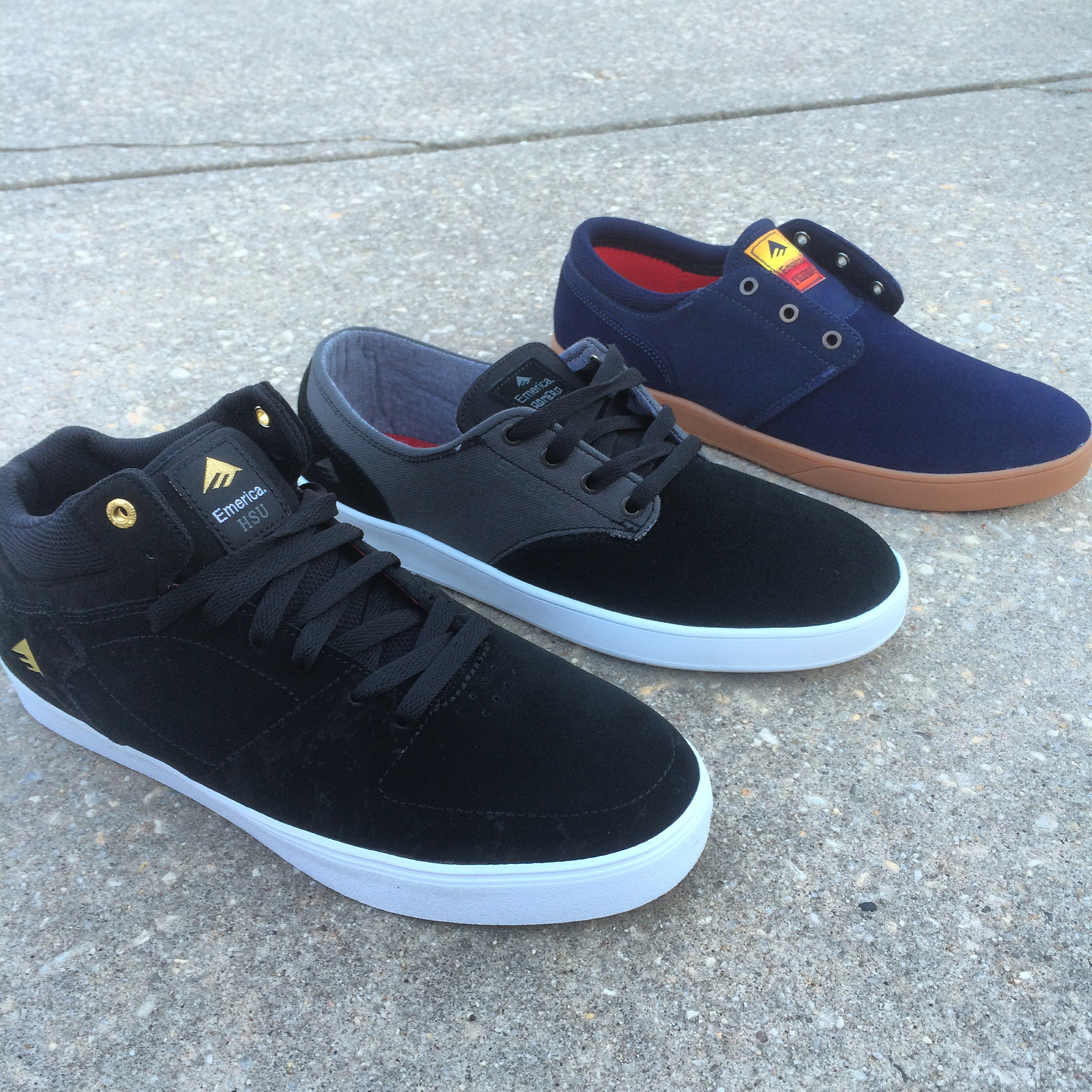 8b1dd5458ac35b New Shoes From Emerica Just Came In At Both Shop Locations. Laced ...