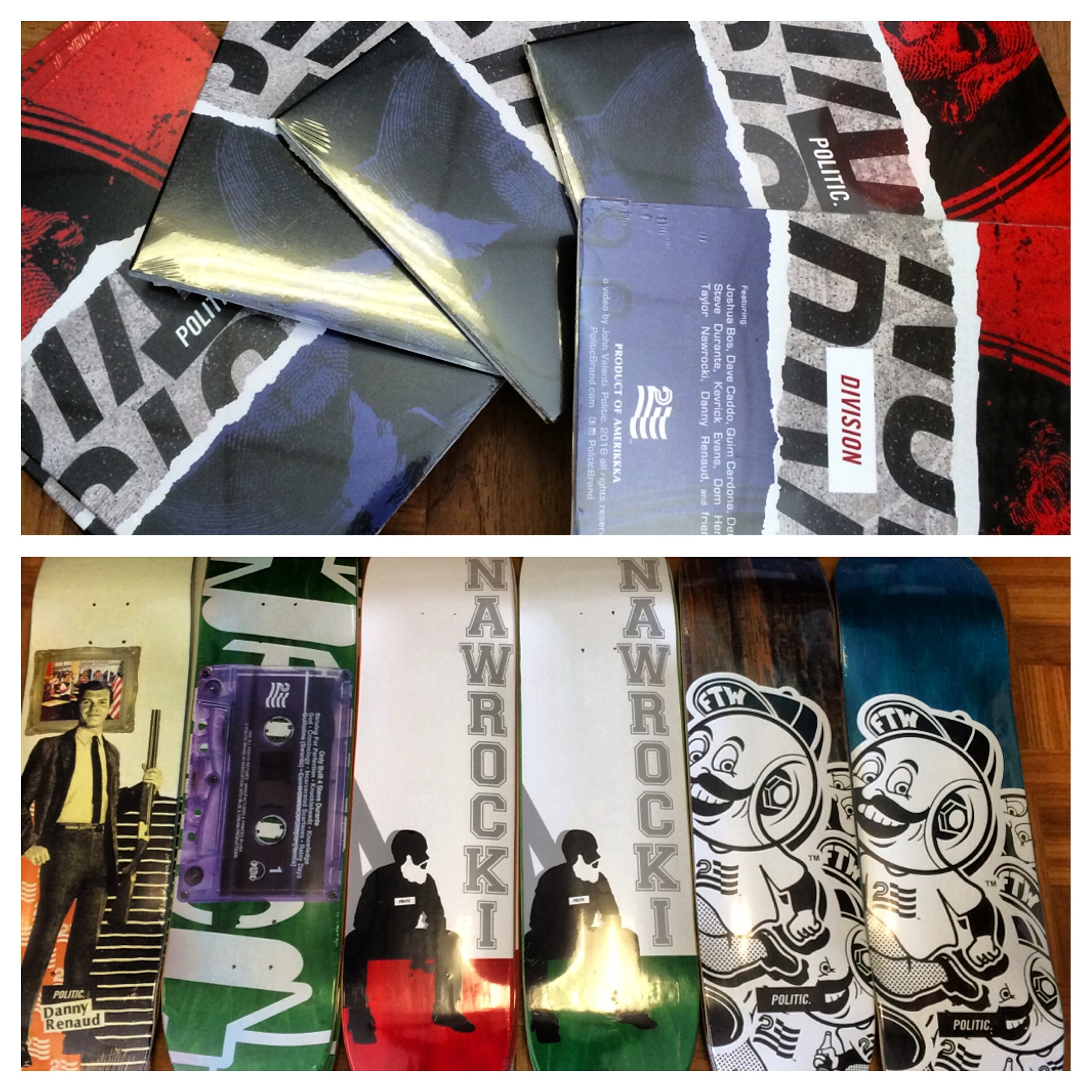 """New Politic Decks   Their New Video """"Division"""" Just Came In At Both Store  Locations 5a26dfeb828"""