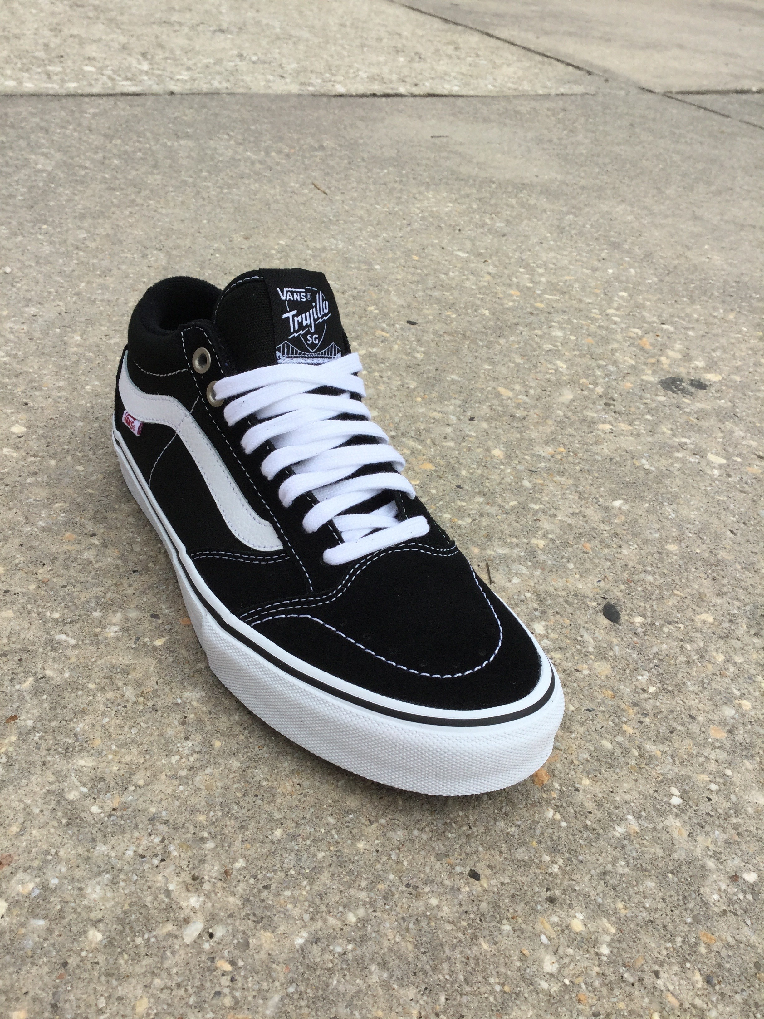 6e5d924ebf4047 New Vans TNT SG In Black White Suede Just Came In At Our Parkville Location.