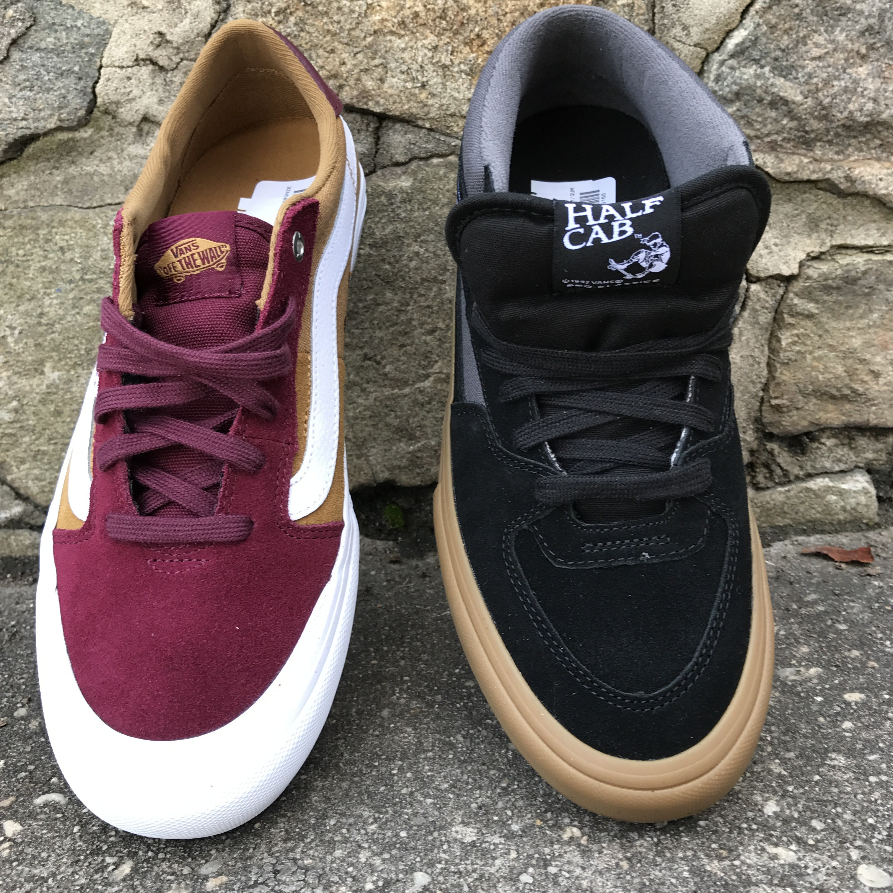 4552e9658ce91f New Vans Half Cab Pro   112 Pro s Just Came In at Both Shop Locations. This  ...
