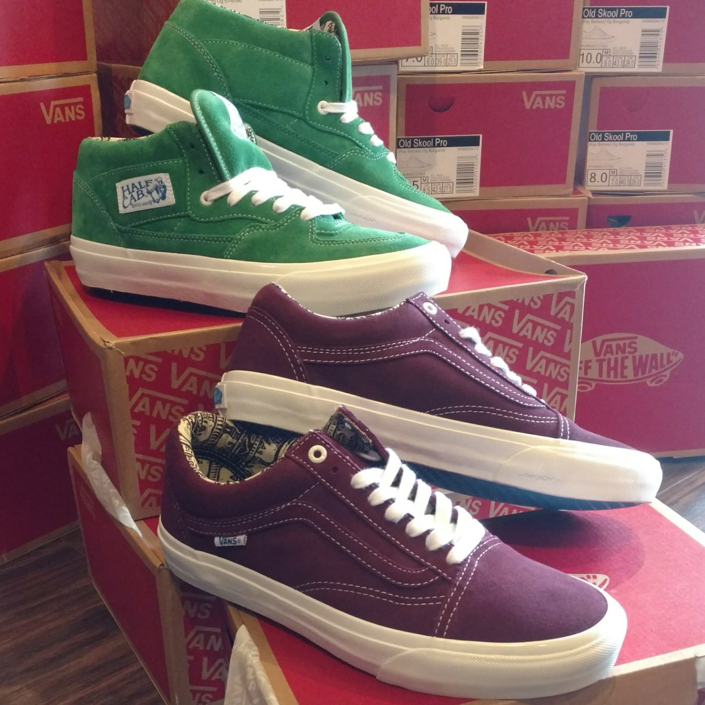 24da3b20819109 New Vans Ray Barbie Collection Just Came In! Old Skool Pro   Half Cab Pro s.
