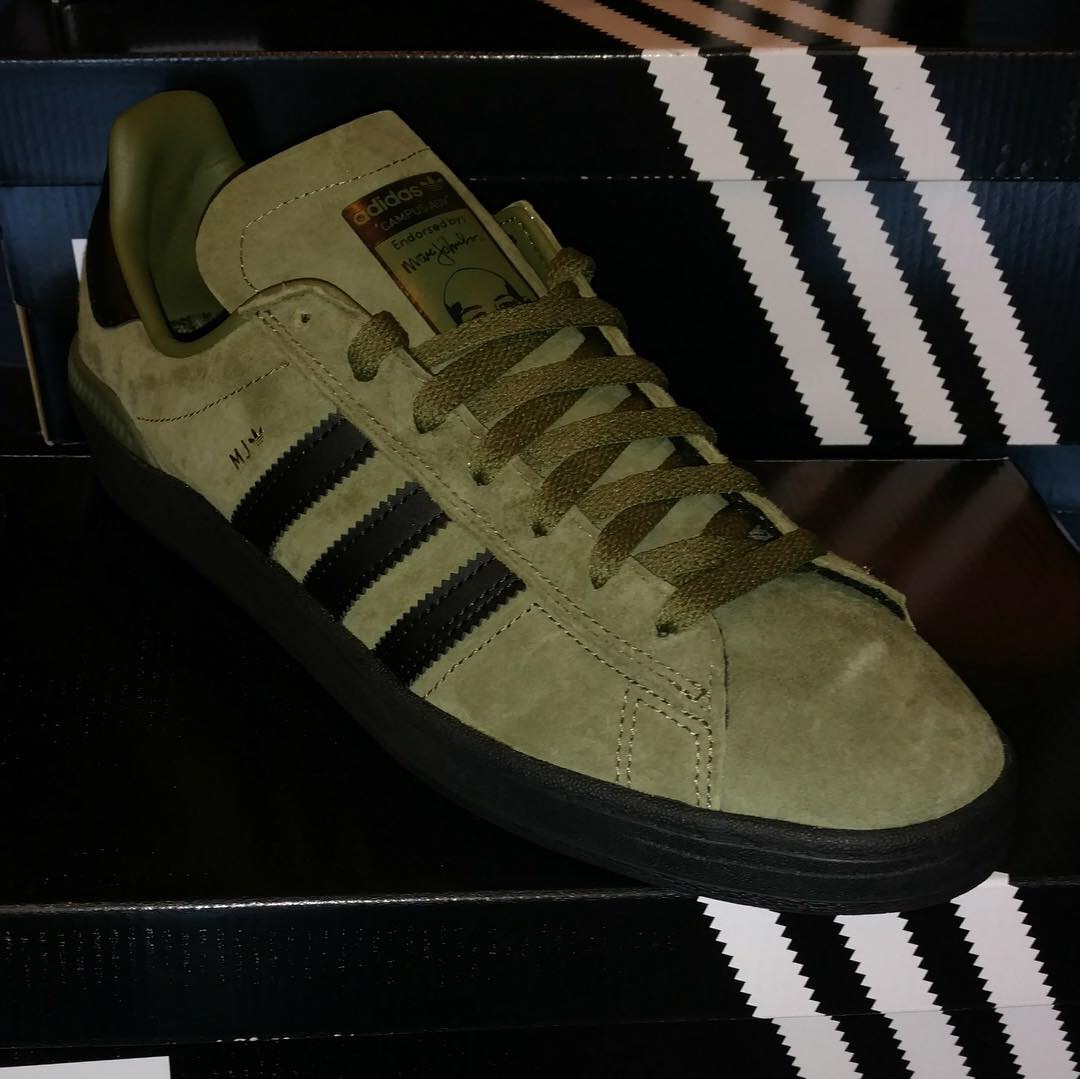 3666d4827ea793 New Adidas Campus ADV Marc Johnson In Army Green Black Just Came In At Our  Hampden Location. This ...